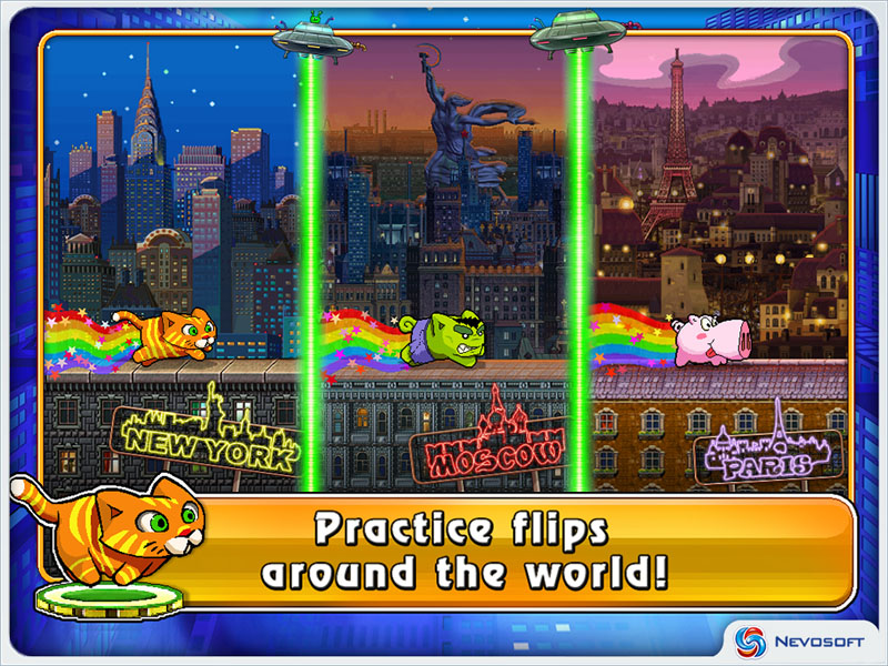 Game City Cat  Download game City Cat for free at Nevosoft