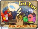 the first screenshot of the game Lord of Runes