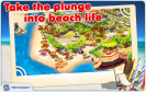 the first screenshot of the game Paradise Beach