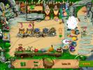 the first screenshot of the game Stone Age Cafe
