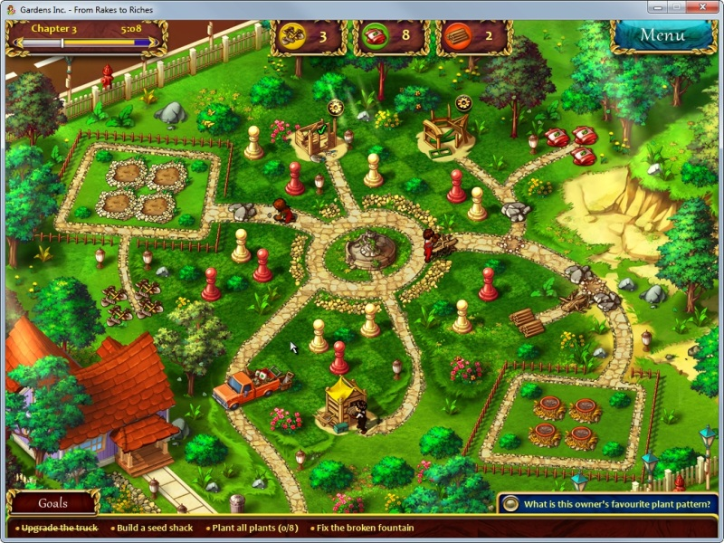 Nice ... The Second Screenshot Of The Game Gardens Inc. From Rakes To Riches ...